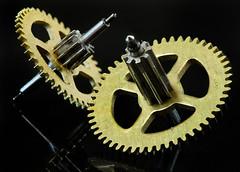 Cogs (arbyreed) Tags: arbyreed macromondays cogwheel gears brass small clockwork close closeup