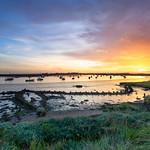 Slaughden Sunset
