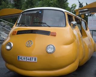 Erwin Wurm's Hot Dog Bus