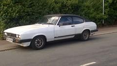 1980 Ford Capri GL (DWS 643W) (freeclassiccarpics) Tags: bangernomics ford capri bristol outside car rusty