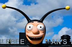 Bumblebee Man..... (Little Hand Images) Tags: bumblebeeman thesimpsons cartoon character universalstudios florida