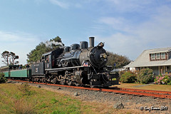 Steam in Rockaway (C.P. Kirkie) Tags: mccloudriverrailroad mr 262 steamlocomotive steamtrain oregoncoast oregon trains railroads excursiontrain touristtrain tillamook portoftillamookbayrailroad potb