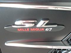 637 Mercedes SL Mille Miglia 417 Badge (robertknight16) Tags: mercedes mercedesbenz german germany 2010s badge badges automobilia mbworld brooklands
