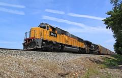 Former Helm (GLC 392) Tags: emd sd60 ge es40dc 7587 6544 helm leasing up union pacific ns norfolk southern railroad railway train erie pa pennsylvania harborcreek harbor creek hlcx