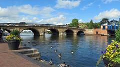 Henley-on-Thames, Oxfordshire - England (Mic V.) Tags: henley thames oxfordshire england uk united kingdom great britain gb town ville village river tamise bridge pont