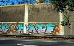 Graffiti in Köln/Cologne 2018 (kami68k -all over-) Tags: köln cologne 2018 graffiti illegal bombing bunt hacf
