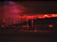 Bernalillo, NM (cestlameremichel) Tags: new mexico redscale red film 35mm analog analogue analogica nouveau mexique santa fe pueblo native america usa roadtrip 666 agfa vista plus 200 filmisnotdead