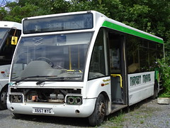 Target Travel X657WYG (Devon and cornwall Bus Spotter) Tags: target travel x657wyg optare solo spares withdrawn scrap broken bus plymouth ltd