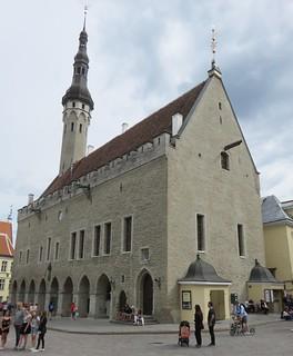 Tallinn, Estonia Town Hall