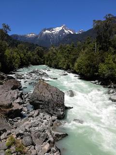 Rio Blanco,parque nacional Hornopiren,Chile !!