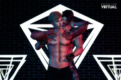 Forche (Satuex Resident) Tags: riot ascend valiant backdrop gloves pants jeans latex tram mesh bento hair straydog letre doux senses gay guy male dude man men pose belleza jake gianni signature