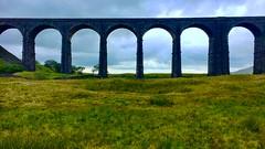 Ribblehead Viaduct (Deydodoe) Tags: 2018 iphone britain england greatbritain unitedkingdom yorkshire yorkshiredales bridge railway viaduct ribbleheadviaduct ribblehead