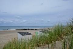 Oostkapelle strand (Omroep Zeeland) Tags: oostkapelle westhove kasteel bos zeeland natuur strand golven strandhuisjes