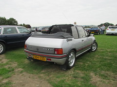 Peugeot 205 CTi D54EDD (Andrew 2.8i) Tags: haynes motor museum breakfast meet sparkford yeovil somerset show classic classics cars car autos french open cabriolet convertible cti 205 peugeot
