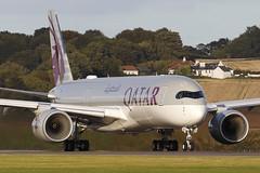 Airbus A350-941 A7-ALM Qatar Airways (Mark McEwan) Tags: airbus a350 a350941 a7alm qatar qatarairways edi edinburghairport edinburgh aviation aircraft airplane airliner