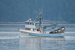 Sea Gem (D70) Tags: trincomalichannel britishcolumbia canada seagem fishingboat sigma 150600mm f563 contemporary tc1401 teleconverter nikon d750 ƒ90 8543mm 1800 12800 vessel