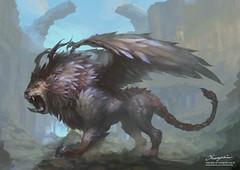 Fantasy Creature Illustration (cylstudio81Art) Tags: illustration illustrator fantasy fantasycreature