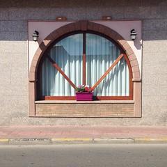 (Marica Federica) Tags: rosa finestra love deer pantex mirror house casa strada street sardinia sardegna cagliari italy italia windows window blue pink