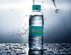 Bisleri (Ram Iyer Photography) Tags: productphotography product commercial advertisement ramiyerphotography nikon d7100 godox ad200 bisleri water splash drops advertising clean creativity creative flickr