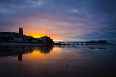 Cromer Sunset (Pete19s) Tags: cromer sunset dusk goldenhour cromerpier landscape nikon d7100 sigma reflection silhouette northnorfolk coast seaside beach water