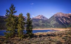 Three Sentinels (Marsha Kay Photos) Tags: colorado pine lakes mountains rockies landscape