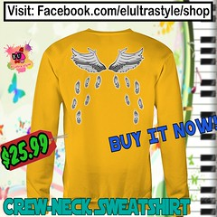 I Can Fly Crewneck (El Ultra Style) Tags: music musician musica musicvideo songs angels birds bird pets pet angel flyfishing fly flying wings love voice melody harmony beauty sounds back sing singing ibelieve ibelieveicanfly rkelly magic blackgirlmagic birdwatching