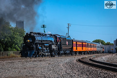 Westbound TCWR-MILW 261 2018 AAPRCO Convention Special Passenger Train at Minneapolis, MN (Mo-Pump) Tags: train railroad railfan railroader railway railroading railroads locomotive