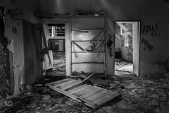 Fort Ord Interior (Chris Skopec) Tags: abandonded california fortord marina military modernruins monterey ruins