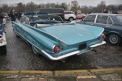 1960 Buick Invicta 2-door convertible (pontfire) Tags: 1960 buick invicta convertible coupe 60 18e traversée hivernale de paris 2018 fullsize 2door buickinvictaconvertible buick1960 convertiblecoupe 1960buick custom luxurycars voituredeluxe oldcars antiquecars classiccars vieillevoiture voitureancienne voituredecollection car cars auto autos automobili automobile automobiles voiture voitures coche coches wagen pontfire automobileancienne worldcars americancars voitureaméricaine bbody carro carros bil αυτοκίνητο 車 автомобиль classique ancienne vieille collection classic old antique vieux tacots