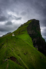 That's one lonely lighthouse (itsprince.b) Tags: hiking faroeislands lighthouse nordic travel sonya6000