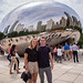 At Cloudgate, Chicago