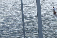 Centro Botin, Santander, Espagne - Spai (blafond) Tags: santander cantabria cantabrie centrobotin renzopiano seul alone solitude loneliness seulfaceàlamer eau water suspendu