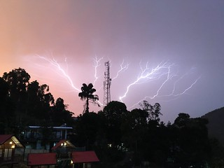 Lightning And Colors
