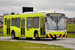 32 (American Bus Pics) Tags: airport gru volvo neobus lowentry