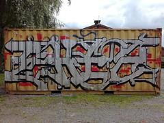 Hiedanranta free walls (Thomas_Chrome) Tags: hiedanranta graffiti streetart street art spray can wall walls tampere suomi finland europe nordic legal chrome