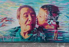 Orlando Kintero § Samuel Idmtal (BE'N 59. Street photographer) Tags: orlandokintero samuelidmtal generation baiser kiss londres london streetart streetartlondres londonstreetart