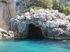 Capri, Italy (caffeine_obsessed) Tags: italy mediterranean ocean sea capri island europe travel tourism caves grottos turquoise water