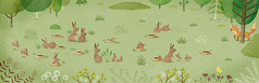 Rabbits Dig Burrows (Animal Builders) (Romina Martí + Morad Abselam) Tags: amicus educationalbooks illustratedbooks childrenbooks childrenillustration animalbuilders