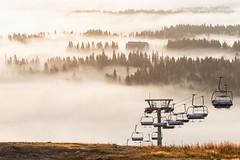 cloudy scenery from Tahko hill 2 (VisitLakeland) Tags: finland kuopiotahko lakeland tahko tahkonrinteet aamu auringonnousu hiking luonto luontokohde maisema misty morning nature outdoor retkeily scenery sumu walking