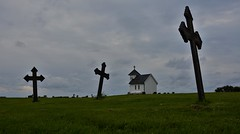 Varhaug gamle kirkegård (EvenHarbo) Tags: varhauggamlekirkegård kirkegård grave nikond7100 nikon norge norway varhaug rogaland jæren sky clouds churchyard chapel cemetery