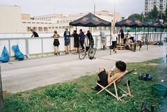 (titu4) Tags: 35mm portra400 kodak olympus mju film bikepolo lublinbikepolo lublin poland