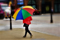 Don't you Just love the Rain!!!! (WorcesterBarry) Tags: street streetphotography streetphoto candid colour places people photographers paths weather england travel happiness rain