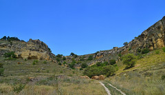Savanna-like vegetation (МирославСтаменов) Tags: russia kislovodsk caucasus sandstone rocks mountain slope byroad steppe