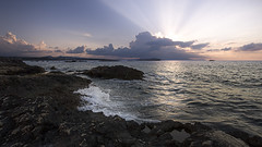 No. 1016 Cretan dream (H-L-Andersen) Tags: crete chania hania sunset greece landscape seascape rays sunrays mediterranean nature canoneos6d lee leefilters nd