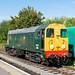 D8001 British Railways Ongar EOR 15.09.18