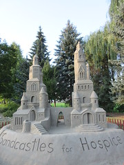 Sandcastles for Hospice (jamica1) Tags: sandcastles salmon arm shuswap bc british columbia canada