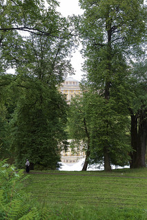 Pavlovsk Palace. Reflection.