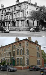 Park Way and Northbrook Street, Toxteth, 1940s and 2018 (Keithjones84) Tags: liverpool oldliverpool thenandnow rephotography