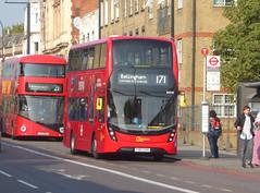 GAL EH210 - YY67UTK - NEW CROSS ROAD - THUR 6TH SEPT 2018 (Bexleybus) Tags: new cross x road a2 south east london goahead go ahead adl dennis enviro 400 mmc tfl route 171 eh210 yy67utk