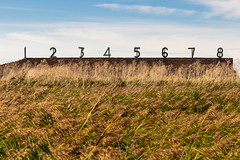 RSPB Rainham (Alan Dell) Tags: rspb rainhammarshes rainham essex landscape numbers historic shooting range